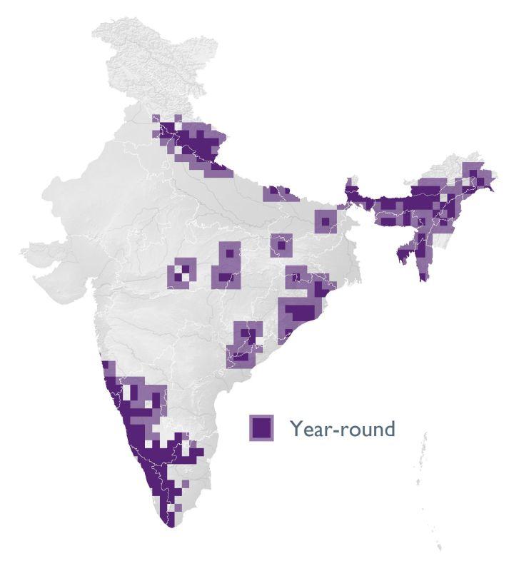Distribution map (SoIB 2020)